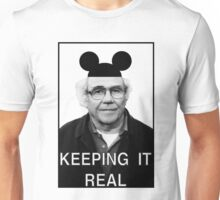 Baudrillard - Keeping it real Unisex T-Shirt