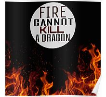 Fire and Dragons Poster
