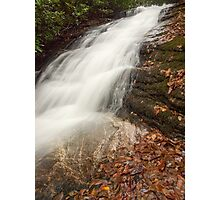Waterfall on Whiteside Mountain Photographic Print