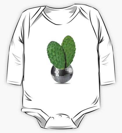 Cactus disco party One Piece - Long Sleeve