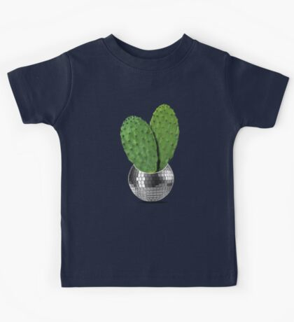 Cactus disco party Kids Tee