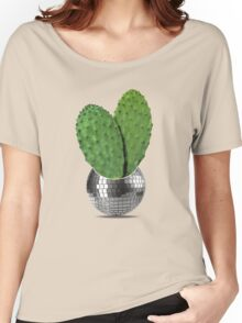 Cactus disco party Women's Relaxed Fit T-Shirt