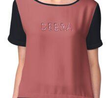 Debra Chiffon Top
