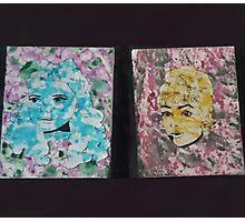 Judy & Audrey Canvas Piece Photographic Print