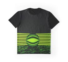 Lines and Circles Graphic T-Shirt