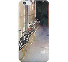 Bike alley iPhone Case/Skin