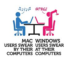 Mac User Swear by their Computers by artpolitic