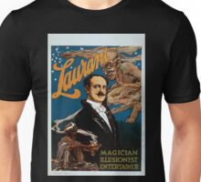 Performing Arts Posters Laurant magician illusionist entertainer 0258 Unisex T-Shirt