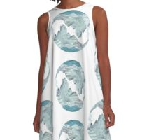Sea and sky  A-Line Dress