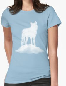 Cloud Wolf Womens Fitted T-Shirt
