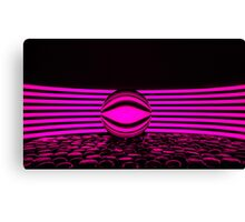 Abstract - Neon Pink Canvas Print