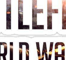 Battlefield 1 Sticker