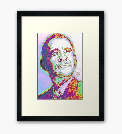 Your President Framed Print