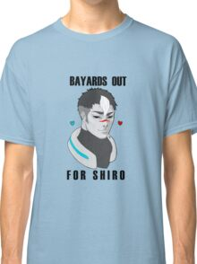 BAYARDS OUT FOR SHIRO Classic T-Shirt