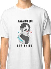BAYARDS OUT FOR SHIRO Classic T-Shirt