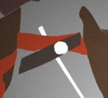Assassins Creed Ezio - Minimalistic Art Sticker