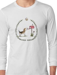 Mails-th here - my favourite time of day Long Sleeve T-Shirt