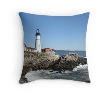 Portland Head Light House, 9000 views! Throw Pillow