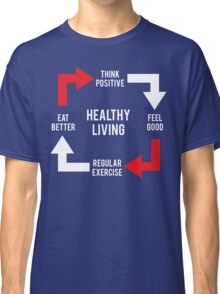 Healthy Living - Diagram Classic T-Shirt