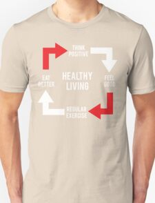 Healthy Living - Diagram Unisex T-Shirt