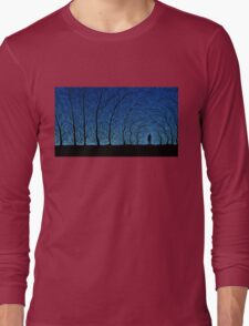 trees people Long Sleeve T-Shirt