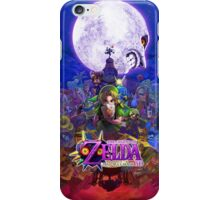 zelda majora mask iPhone Case/Skin
