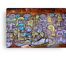 Faces of the City Canvas Print