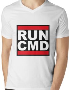 Run CMD Mens V-Neck T-Shirt