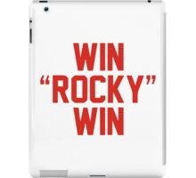 Sylvester Stallone - Win Rocky Win iPad Case/Skin