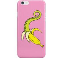 Banana Squid Pink iPhone Case/Skin