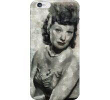 Lucille Ball Hollywood Actress iPhone Case/Skin