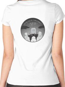 Frank Ocean Seance (Fan Art) Women's Fitted Scoop T-Shirt