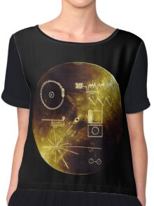Voyager Golden Record Chiffon Top