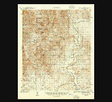 USGS TOPO Map Arizona AZ Happy Valley 314653 1945 62500 Unisex T-Shirt