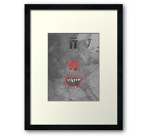Stephen King's IT Framed Print
