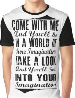 Pure Imagination  (Black version) Graphic T-Shirt
