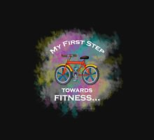 My First Step Towards Fitness Cycling Sport Unisex T-Shirt