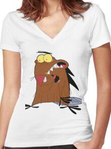 Daggett Women's Fitted V-Neck T-Shirt