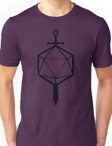 d20 Sword Unisex T-Shirt