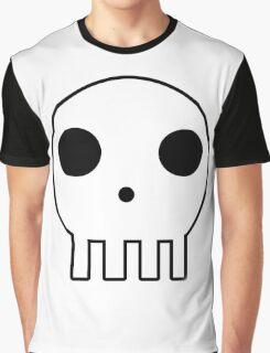 Skull Design Graphic T-Shirt