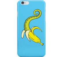 Banana Squid Blue iPhone Case/Skin