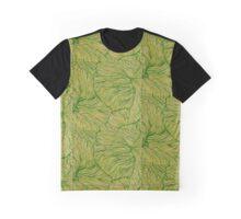 Light Green Petunia Graphic T-Shirt