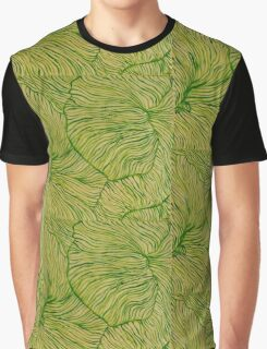 Light Green Petunia Graphic T-Shirt