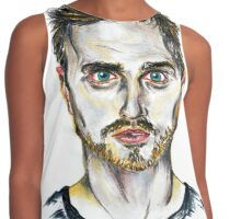 Breaking Bad - Jesse Pinkman Portrait Contrast Tank