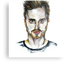 Breaking Bad - Jesse Pinkman Portrait Metal Print
