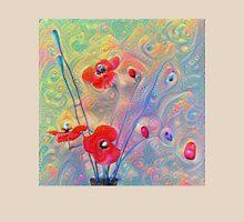 #Deepdreamed Poppies Unisex T-Shirt