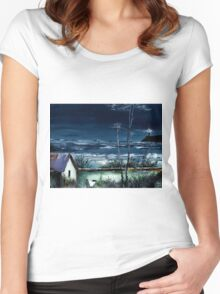 Light House Women's Fitted Scoop T-Shirt