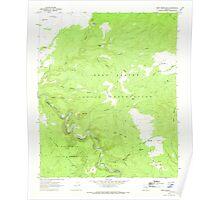 USGS TOPO Map Arizona AZ West Poker Mtn 314036 1967 24000 Poster