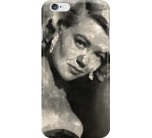 Dorothy Malone Vintage Hollywood Actress iPhone Case/Skin