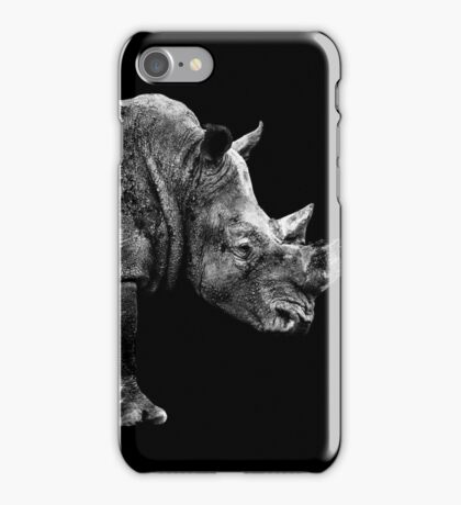 SAFARI PROFILE - RHINO BLACK EDITION iPhone Case/Skin